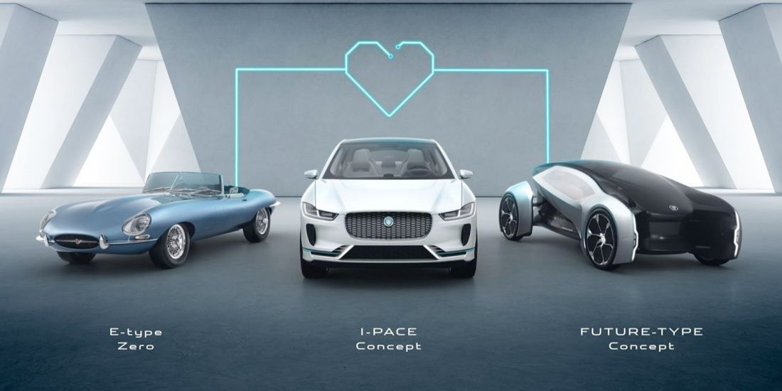 jaguar land rover, jaguar i-pace, jaguar electricos, land rover electricos, jaguar e-type zero, jaguar future-type