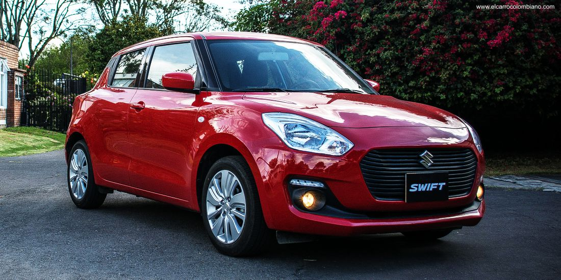suzuki swift 2018, suzuki swift 2018 colombia, suzuki swift 1.2