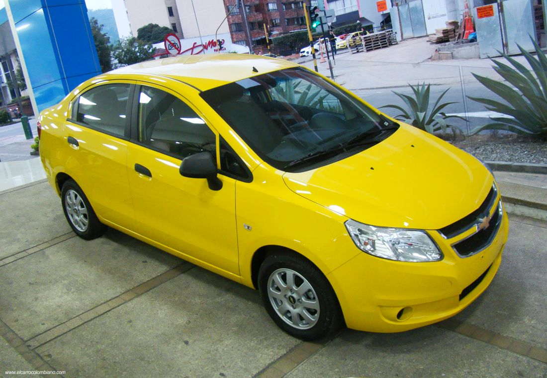 chevrolet chevytaxi premium, chevrolet sail taxi, chevrolet sail colombia, taxis colombia, taxis sedan colombia