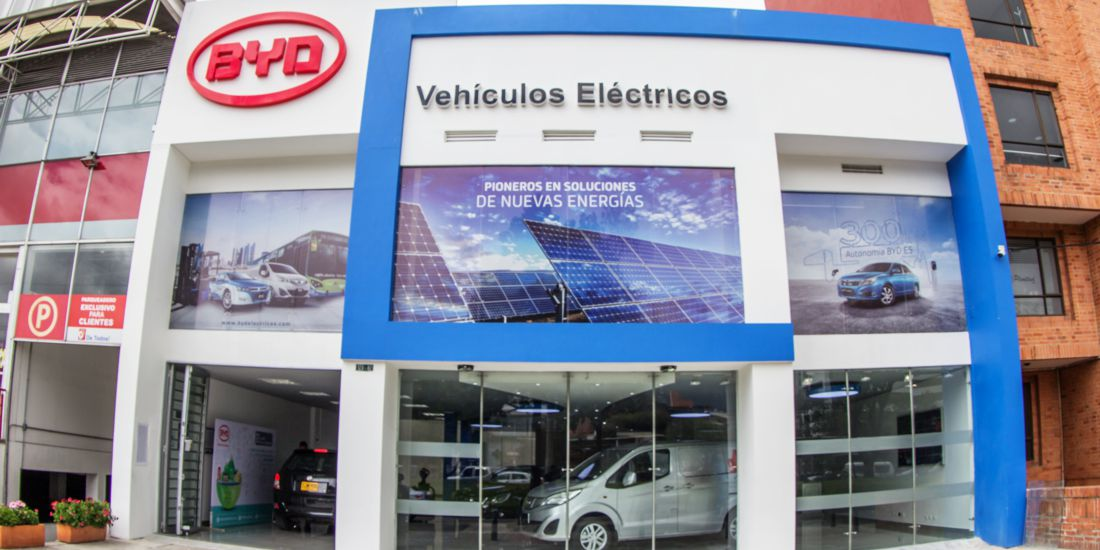 byd carros electricos, byd colombia, carros electricos en colombia