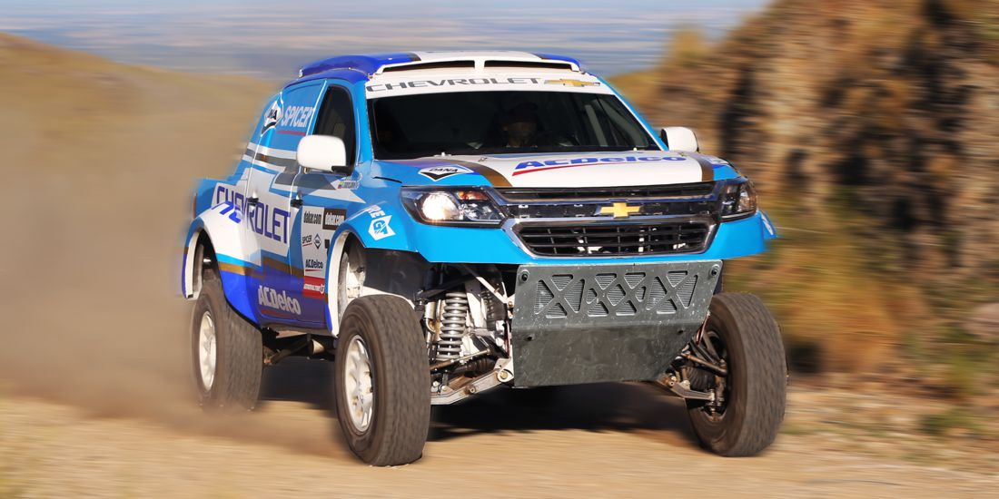 chevrolet dakar team, rally dakar 2018, chevrolet colorado rally dakar