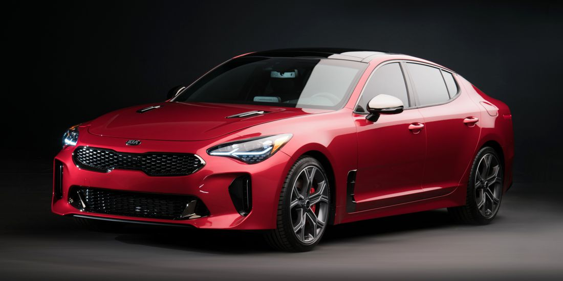 premios good design 2017, kia good design, kia rio 2018, kia stinger, kia niro