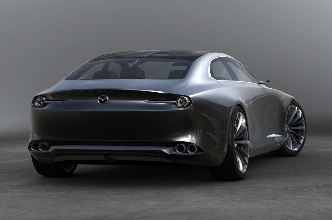 mazda vision coupe, mazda vision coupe concept car mas bello del año, mazda vision coupe 2017