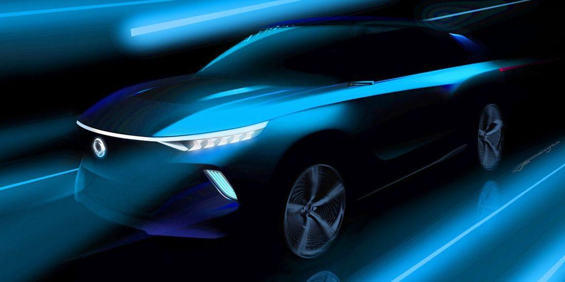ssangyong e-siv, ssangyong e-siv electric concept, ssangyong electrico, ssangyong conduccion autonoma