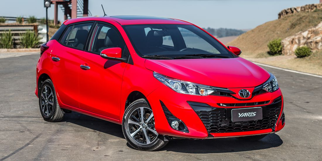 toyota yaris 2019 manufactured in brazil features versions and equipment. Black Bedroom Furniture Sets. Home Design Ideas