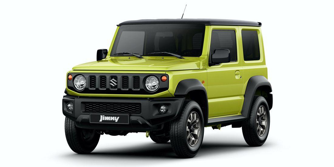 Estilo retro para la nueva generación — Suzuki Jimny