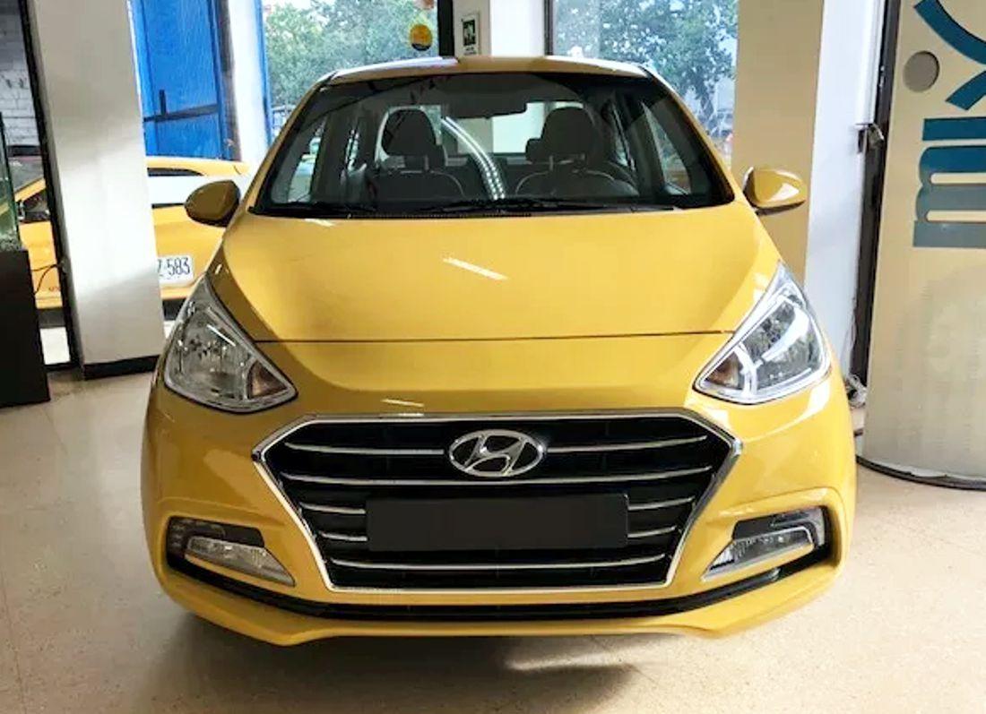 Hyundai Grand I10 Sedan 2019 Taxi Caracteristicas Y Precio En Colombia