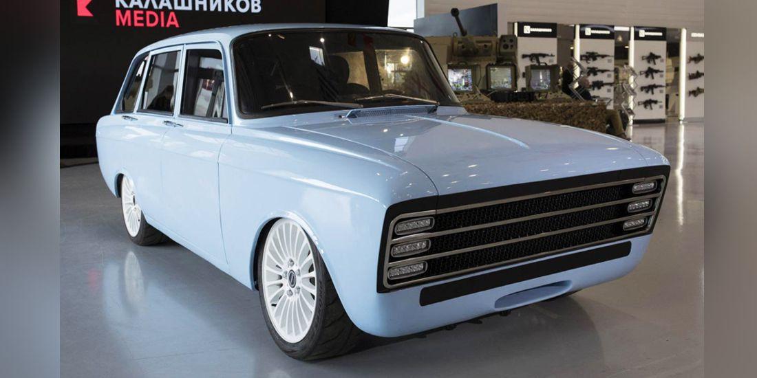 kalashnikov cv-1 concept, carro electrico ruso, carro electrico cv-1, carro electrico kalashnikov, carros rusos, carros de la cortina de hierro, kalashnikov autos, kalashnikov coches, coche electrico ruso, auto electrico ruso