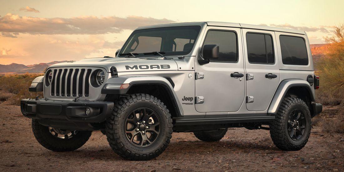 Jeep Wrangler Moab Edition: La opción más completa y campera