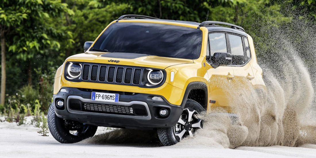 jeep renegade hibrido enchufable, jeep renegade phev, jeep renegade hibrido, jeep renegade 2020, jeep renegade melfi italia