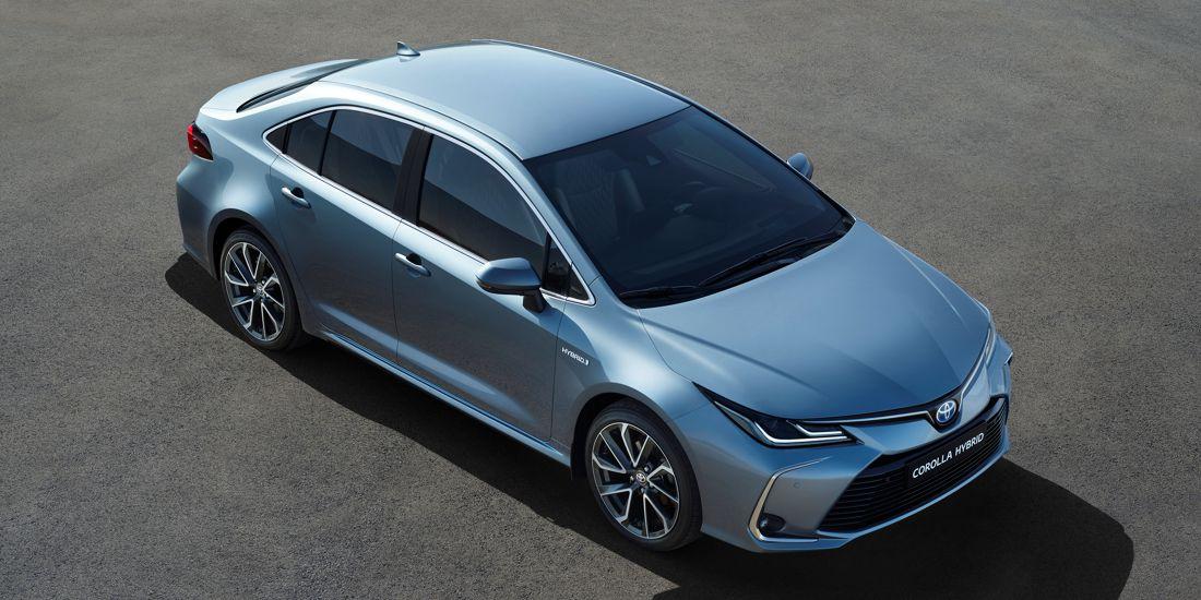 Información coche: Toyota Corolla Hybrid Sedan 2019