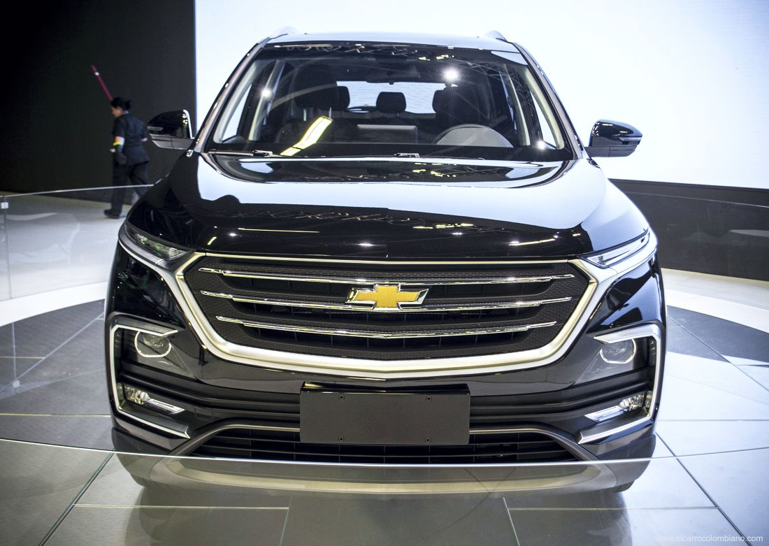 Así es la Chevrolet Captiva 2020, estreno internacional en ...