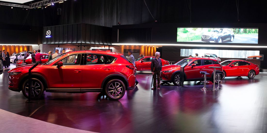 mazda salon del automovil 2018, mazda colombia, mazda 6 turbo colombia, mazda 6 signature turbo, mazda 6 2019 colombia, mazda cx-9 signature, mazda cx-9 2019 colombia