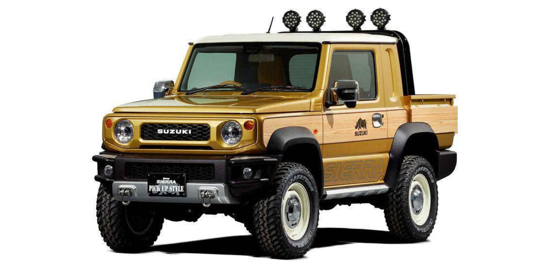 suzuki jimny pick-up style, suzuki jimny sierra pick-up style, suzuki jimny 2019 pick-up, suzuki jimny pick-up, suzuki jimny truck, suzuki jimny 2019 truck, suzuki jimny sierra pick-up