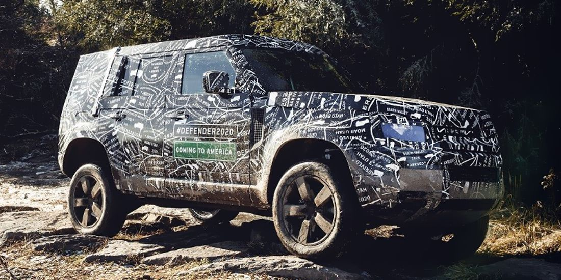 land rover defender 2020, land rover defender 2020 caracteristicas, land rover defender 2020 test drive, land rover defender 2020 fotos, land rover defender 2020 lanzamiento, land rover defender 2020 fotos espia