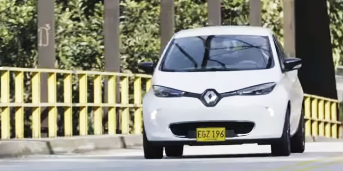 renault zoe colombia, renault zoe, travesia renault zoe 2019, travesia renault zoe por colombia 2019, carros electricos en colombia, viaje en carro electrico, autonomia renault zoe, autonomia renault zoe en colombia, renault zoe 2019 caracteristicas