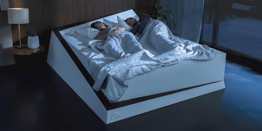cama inteligente, cama inteligente de ford, ford cama inteligente, ford inventions cama inteligente, cama inteligente ford inventions, cama inteligente 2019, video cama inteligente de ford, cómo funciona una cama inteligente, cama tecnologica, cama tecnologica ford, cama moderna, cama moderna ford, cama con mantenimiento de carril, inventos de ford, nuevos inventos de ford, ford inventions proyectos