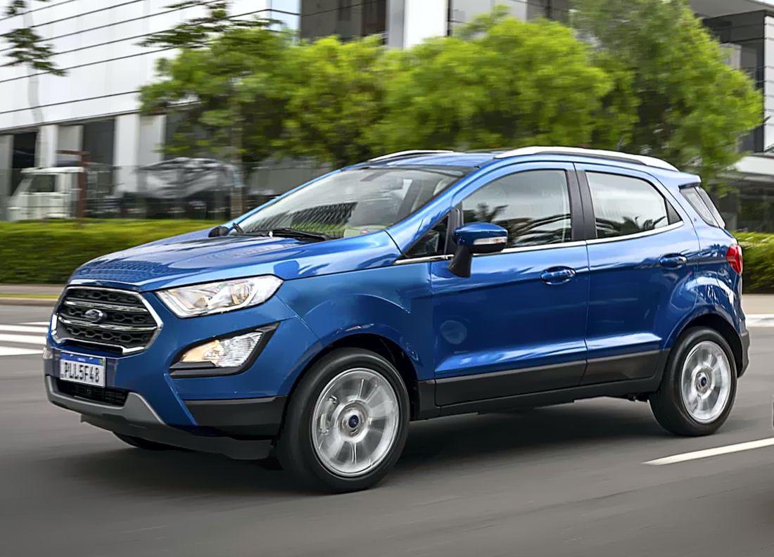 La Ford Ecosport 2020 Se Actualiza Cambio La Llanta De Repuesto Por