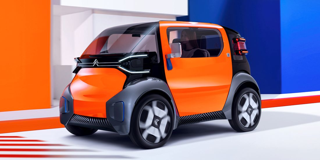 citroen ami one concept, citroen ami one, citroen ami one 2019, citroen ami one car sharing, citroen ami one electrico, citroen electrico, citroen movilidad urbana, citroen ami one autonomia, citroen ami one dimensiones, citroen ami one caracteristicas, citroen ami one concept car