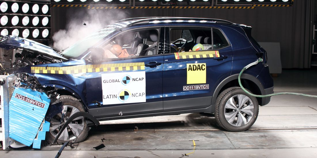 volkswagen t-cross latin ncap, volkswagen t-cross seguridad, volkswagen t-cross calificacion en seguridad, volkswagen t-cross crash test, toyota yaris latin ncap, toyota yaris seguridad, toyota yaris calificacion en seguridad, toyota yaris crash test