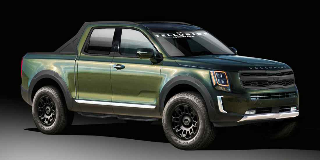 kia pick-up, kia telluride pick-up, kia pick-up grande, hyundai pick-up, hyundai santa cruz pick-up