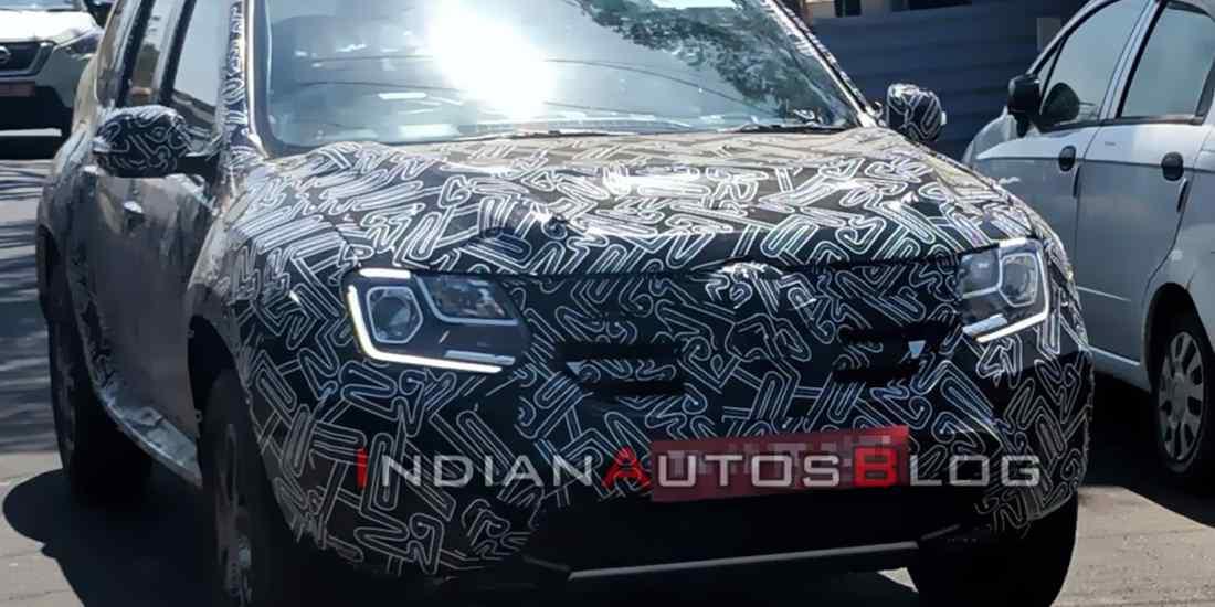 renault duster 2020 india, renault duster india, renault duster 2020 facelift, renault duster 2020 spyshots, renault duster 2020 fotos espia