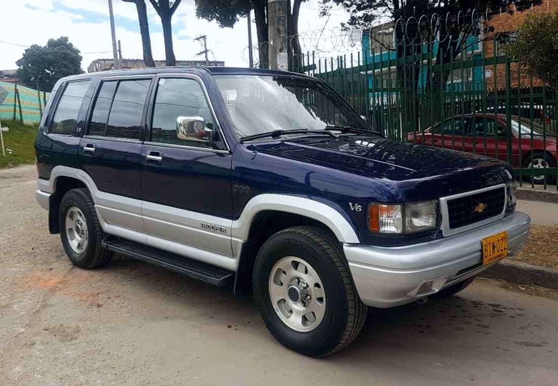 chevrolet trooper, chevrolet trooper colombia, isuzu trooper, chevrolet trooper historia, isuzu trooper historia, chevrolet trooper ficha tecnica, chevrolet trooper caracteristicas, chevrolet trooper 960, chevrolet trooper 960 colombia, chevrolet trooper 960 v6, chevrolet trooper 960 ficha tecnica, chevrolet trooper 960 caracteristicas, isuzu trooper colombia, chevrolet luv 2000, chevrolet luv 2000 colombia, chevrolet trooper colmotores, camperos de colombia, chevrolet trooper 4x4, camperos en colombia, todo-terreno en colombia