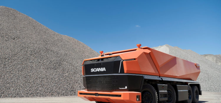 Scania AXL, Concepto, Camiones, Vehículos autónomos, Camion autónomo de scania, Scania autónomo fotos, Camion autónomo caracteristicas