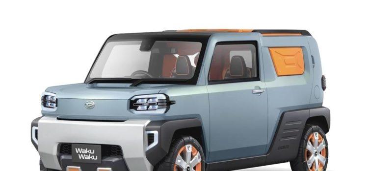 daihatsu waku waku, daihatsu waku waku concept, daihatsu waku waku campero, daihatsu waku waku prototipo, daihatsu waku waku 2019, daihatsu waku waku tokyo auto show 2019, daihatsu tsumu tsumu, daihatsu ico ico, daihatsu wai wai, concept cars daihatsu 2019
