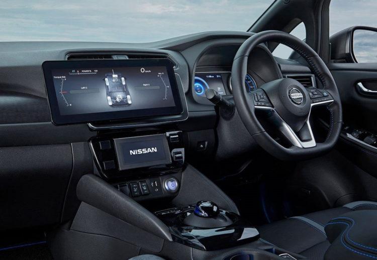 Nissan Leaf Twin Motor: un prototipo con dos motores eléctricos y ruedas directrices