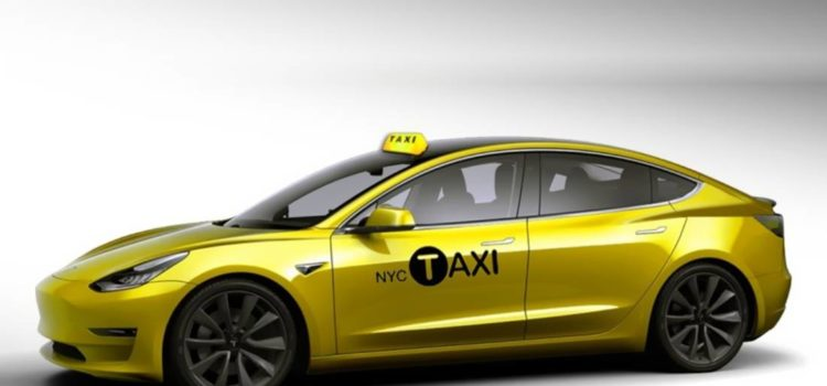 tesla model 3, tesla model 3 taxi, tesla model 3 yellow cab, tesla model 3 taxi new york, tesla model 3 taxi cab, tesla model 3 taxi nueva york, tesla model 3 taxi new york, taxi electrico, taxis electricos