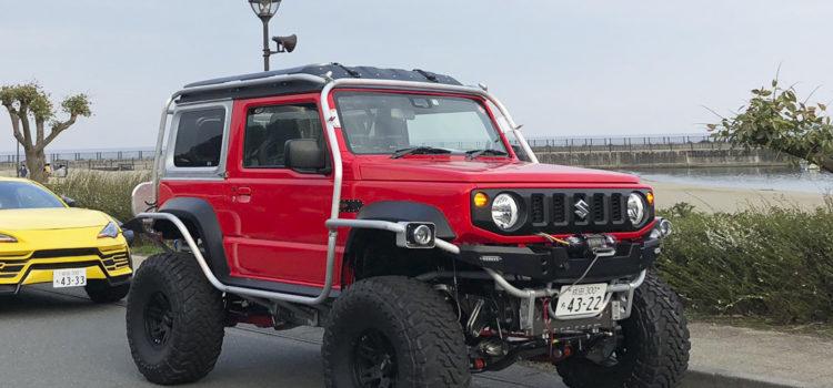 suzuki jimny monster truck, susuki jimny, suzuki, suzuki todoterreno, carros todoterrreno, suzuki 4x4, suzuki jimny modificaciones