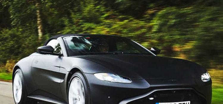 aston martin vantage roadster 2020, aston martin, vantage roadster, convertible, carros de alta gama, coupé