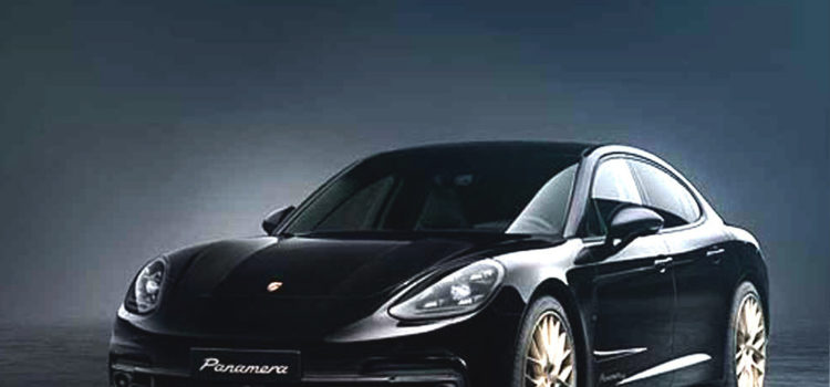 porsche 10 years edition, porsche negro y dorado, porsche, porsche panamera, porsche panamera 10 years edition, carros deportivos, sedan, carros de alta gama