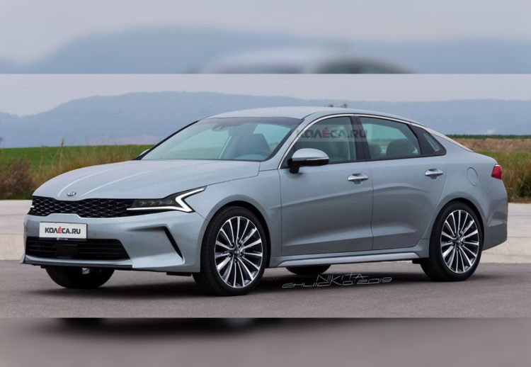 kia optima 2021, kia optima, kia, kia optima hibrido, nuevos modelos kia, kia sedan, kia autos, nuevo diseño kia optima, nuevo diseño kia, render, foto espia, recreacion kia, recreaciones