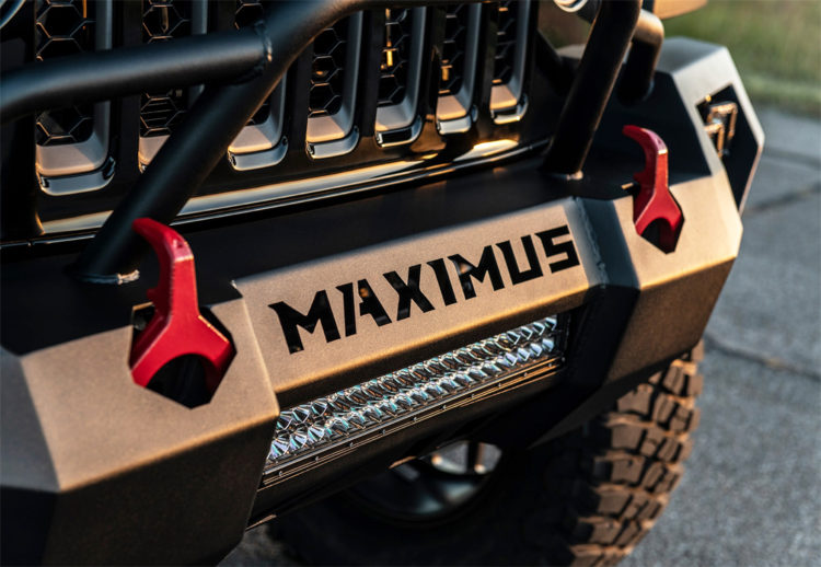 jeep gladiator hennessey maximus, jeep gladiator edicion especial, jeep galdiator, jeep gladiator hennessey, jeep, todoterreno, 4x4