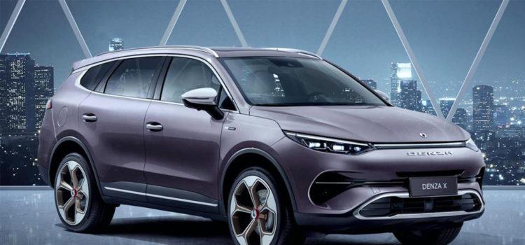 denza x, denza x mercedes benz, suv electrica, mercedes benz, denza, salón del automóvil de guangzhou 2019, lanzamientos china, lanzamientos autos, movilidad electrica, denza x electrica, denza x hibrido