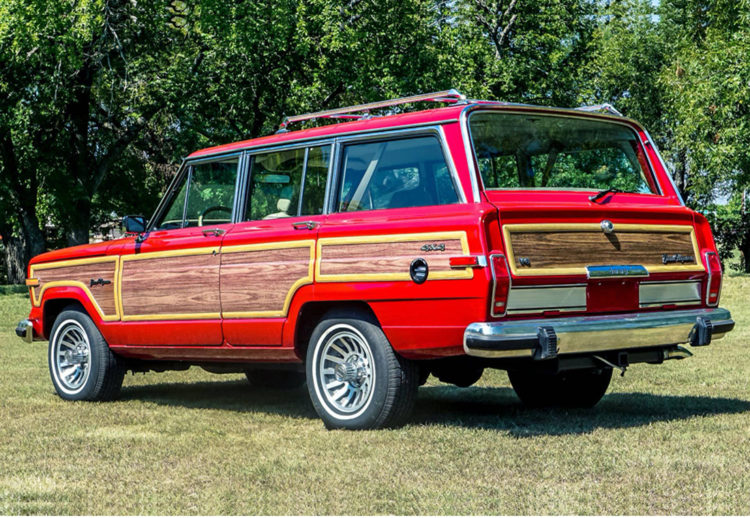 jeep grand wagoneer woody 1989, jeep grand wagoneer woody, jeep grand wagoneer, jeep, autos clasicos modificados, jeep 1989, jeep modificado