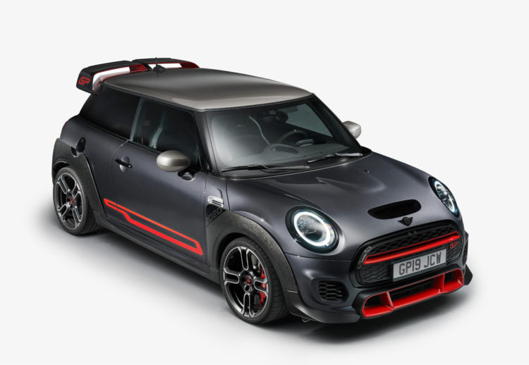 mini john cooper works gp, mini cooper, mini john cooper, mini cooper works gp, nuevos lanzamientos, salon de los angeles 2019, mini cooper de carrera, mini cooper de calle