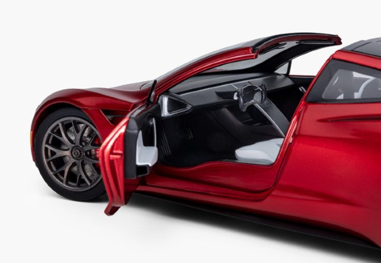Tesla Roadster, Tesla Roadster juguete, Tesla Roadster a escala, Tesla Roadster a escala precios, Tesla Roadster a escala fotos, Tesla Roadster a Escala características
