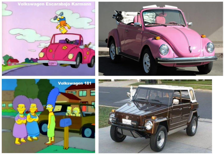 carros de los simpson, carros clasicos, carros antiguos, carros de los 80, los simpson, autos de los simpson, carro de homero simpson, carro de marge simpson, Chevrolet Chevelle Station Wagon, Plymouth Junkerolla, Plymouth Reliant