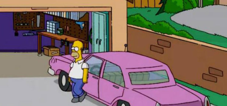 carros de los simpson, carros clasicos, carros antiguos, carros de los 80, los simpson, autos de los simpson, carro de homero simpson, carro de marge simpson, Chevrolet Chevelle Station Wagon, Plymouth Junkerolla, Plymouth Reliant