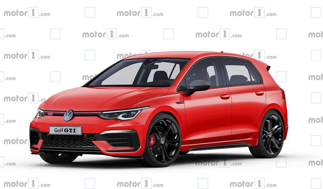 Asi Se Vera El Volkswagen Golf Gti 2020 El Hot Hatch Viene En Camino