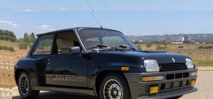 renault 5 turbo 2 evolution, renualt, renualt 5, renault 5 turbo, renault clasico, carros clasicos, carros subastados, subastas renault, renault 5 clasico, carros de antaño, carros renault viejos