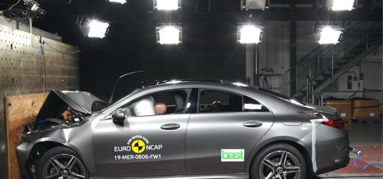 mercedes-benz, mercedes-benz cla, mercedes-benz cla 2019, euro ncap, pruebas euro ncap, carro más seguro 2019, carros seguros, carros de alta gama
