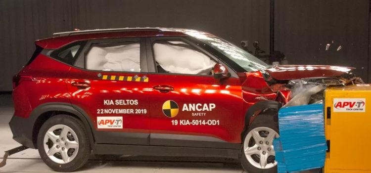 kia, kia seltos, pruebas de seguridad kia seltos, pruebas de seguridad carros, pruebas de seguridad NCAP, ancap, ncap, nuevos carros 2020, carros 2020, suv, seguridad de suv, suv colombia, nuevos carros colombia