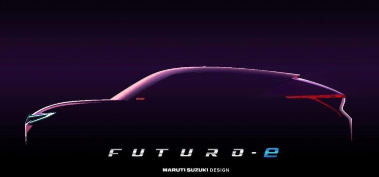 suzuki futuro-e, suzuki futuro-e concept car, suzuki futuro-e teaser, suzuki futuro-e 2020, suzuki futuro-e auto expo 2020 nueva delhi