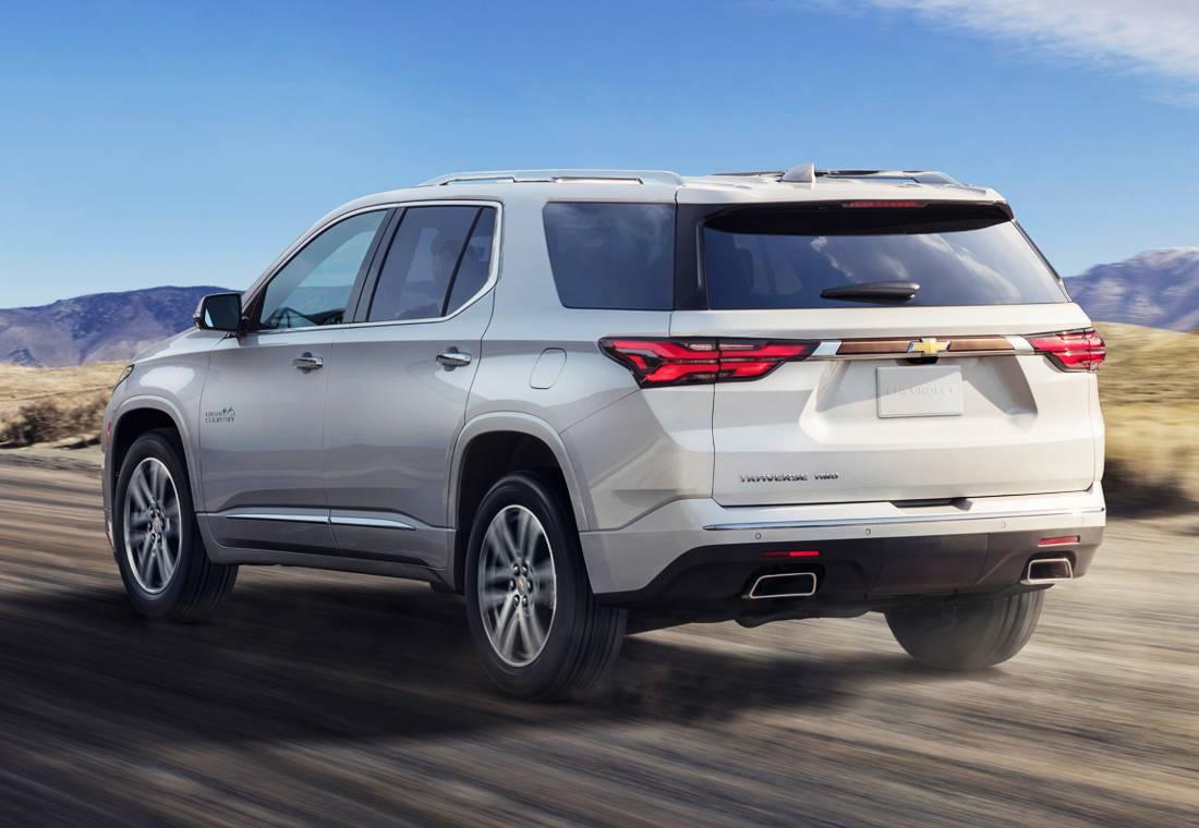Chevrolet Traverse 2021 Nueva Cara Y Mas Seguridad Para La Suv Americana