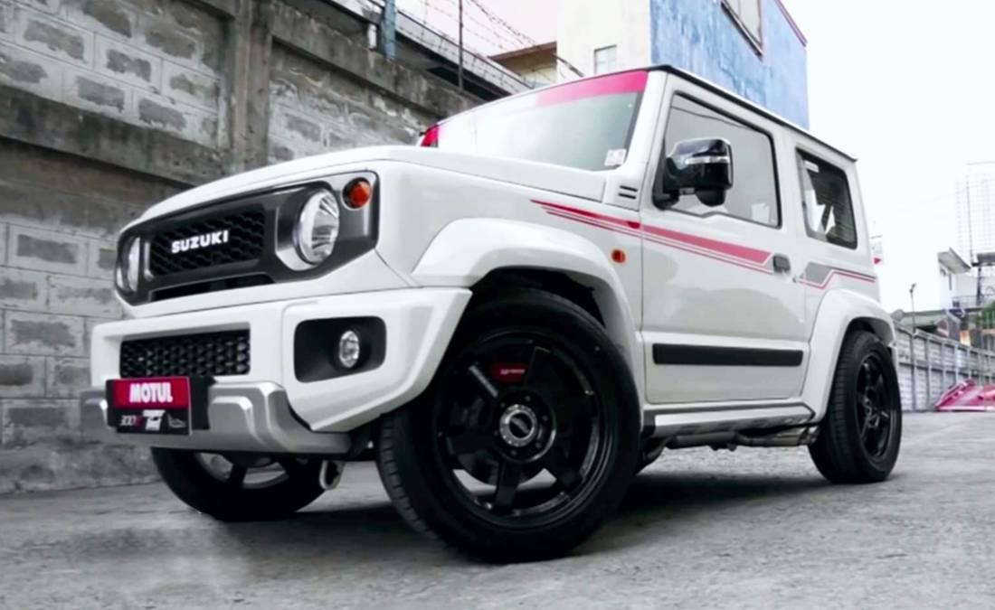 suzuki jimmy turbo, suzuki jimny deportivo, suzuki jimny modificado, suzuki jimny tunning, suzuki jimny 200 hp, suzuki jimny alto desempeño, suzuki jimny convertido a deportivo