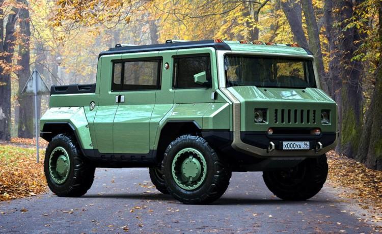 h-uaz, hummer uaz, hummer todoterreno, uaz todoterreno, camioneta todoterreno, camioneta militar, camioneta militar 2020, h-uaz diseño, h-uaz camioneta todoterreno militar 2020